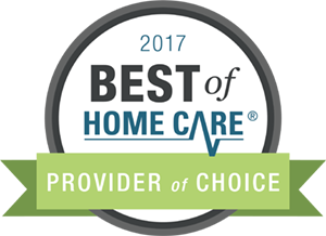 Best of Home Care 2017 - provider of choice