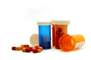 Pills drugs white